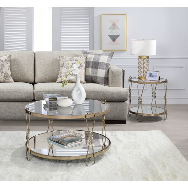 Godoy 2 Piece Coffee Table Set By Everly Quinn