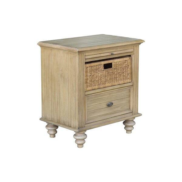 Candlewood 3 Drawer Nightstand by Rosalind Wheeler