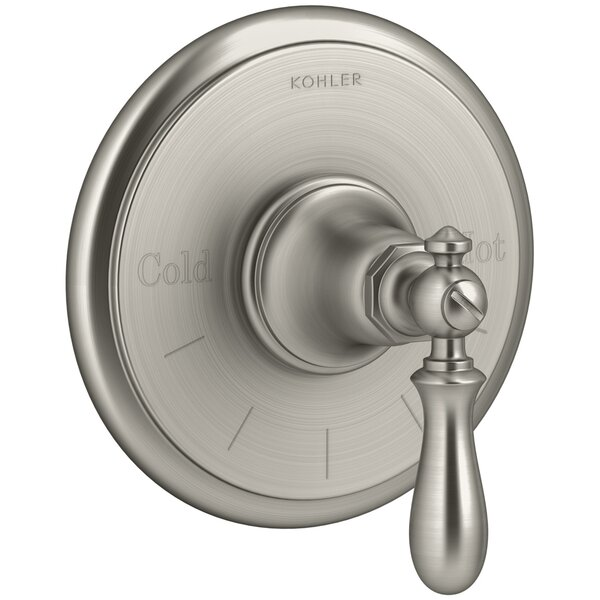Artifacts Thermostatic Valve Trim with Swing Lever Handle by Kohler
