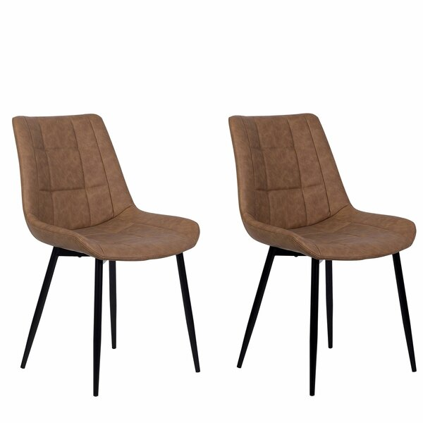 Shutt Upholstered Dining Chair (Set of 2) by Williston Forge