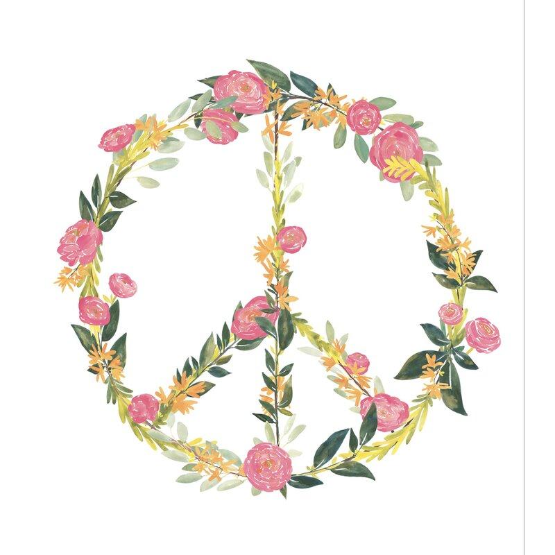 WallPops! Wall Art Kit At Peace Wall Decal | Wayfair
