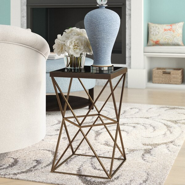 Kelly Frame End Table by Modern Rustic Interiors
