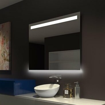 Bathroom/Vanity Mirror by Orren Ellis