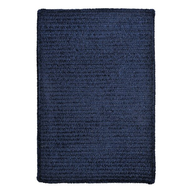 Gibbons Navy Indoor/Outdoor Area Rug by Charlton Home