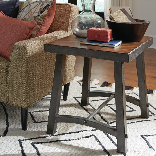 Toby End Table by 17 Stories