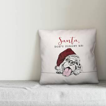 The Holiday Aisle Yesenia Deck Yo Self Before You Wreck Yo Self Red Lumbar Pillow Cover Wayfair