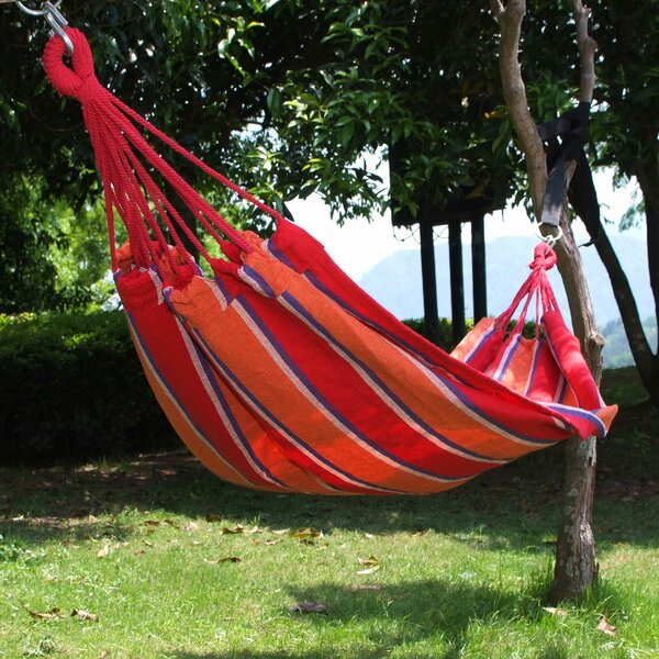 Daniella Naval-Style Cotton Fabric Canvas Tree Hammock by Winston Porter Winston Porter
