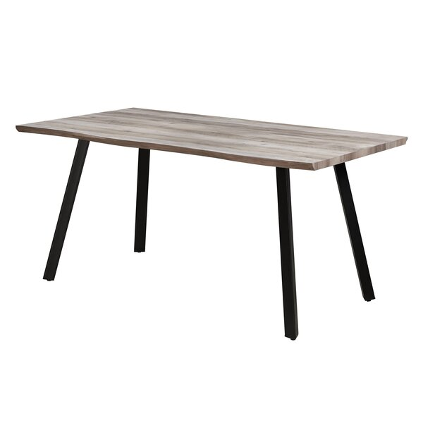 Javen Live Edge Dining Table by 17 Stories