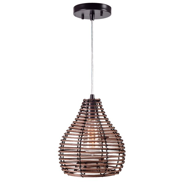 Coleus 1-Light Geometric Pendant by Bay Isle Home