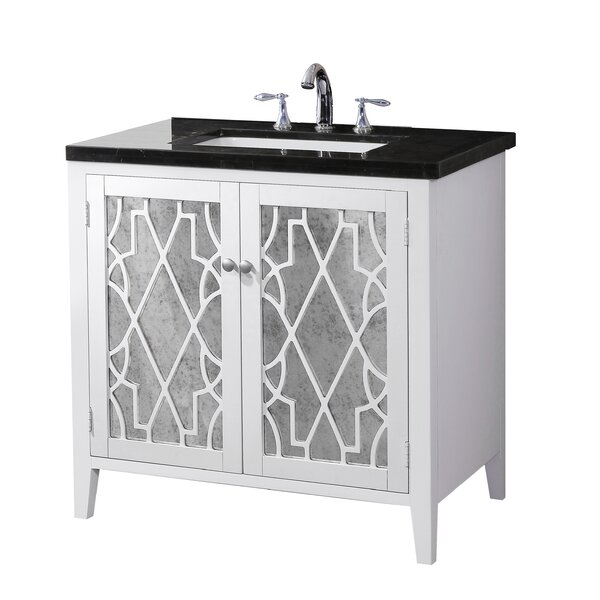 Evelyn 35 Bathroom Vanity Set by Crawford & BurkeEvelyn 35 Bathroom Vanity Set by Crawford & Burke