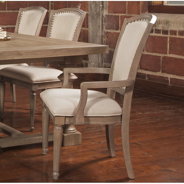 Aya Upholstered Dining Chair (Set of 2) by One Allium Way One Allium Way