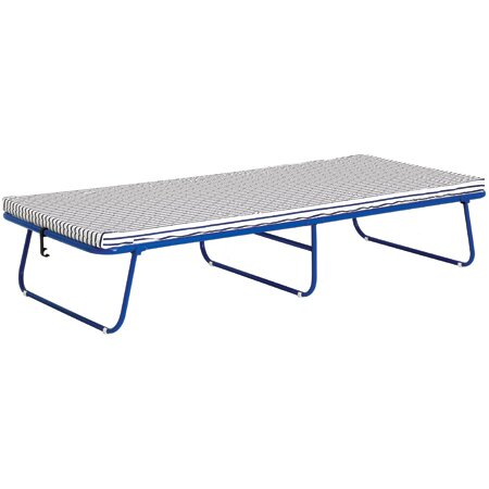 Sussi Foam Frame Folding Bed in Blue by Stram