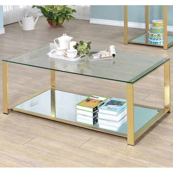 Ruchelly Metal Frame Coffee Table by Willa Arlo Interiors