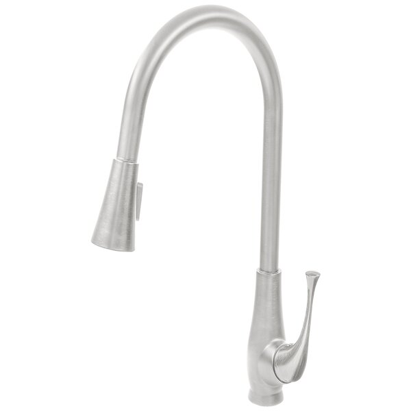 Pull Down Single Handle Kitchen Faucet by Novatto
