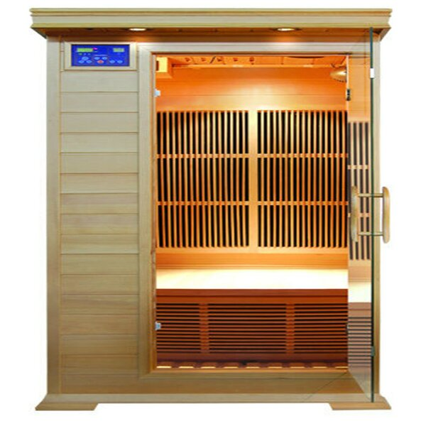 Barrett 1 Person FAR Infrared Sauna by SunRay Saunas