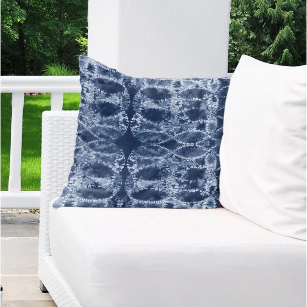 Frederica Cotton Indoor / Outdoor Geometric Euro Pillow