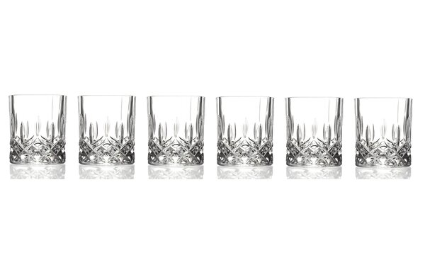 Opera RCR 11 Oz. Crystal Double Old Fashion Glass (Set of 6) by Lorren Home Trends