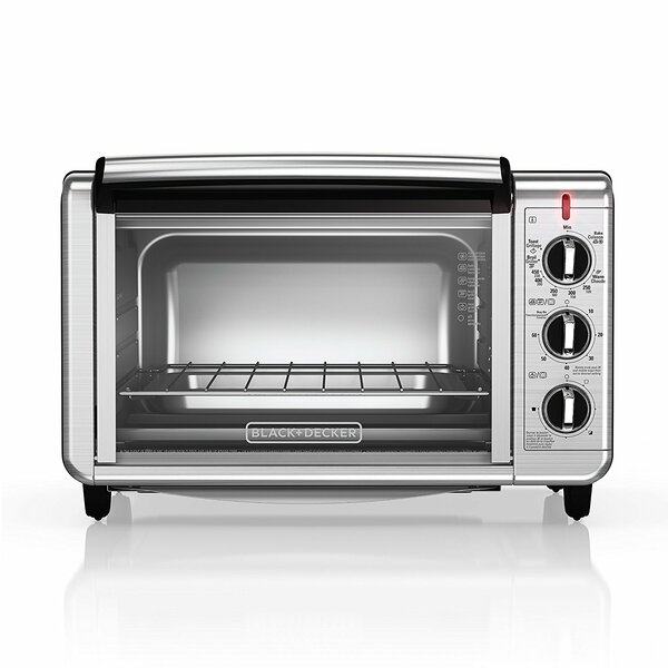 6-Slice Countertop Oven by Black + Decker