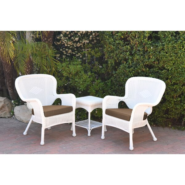 Damarion 3 Piece Conversation Set with Cushions by Mistana