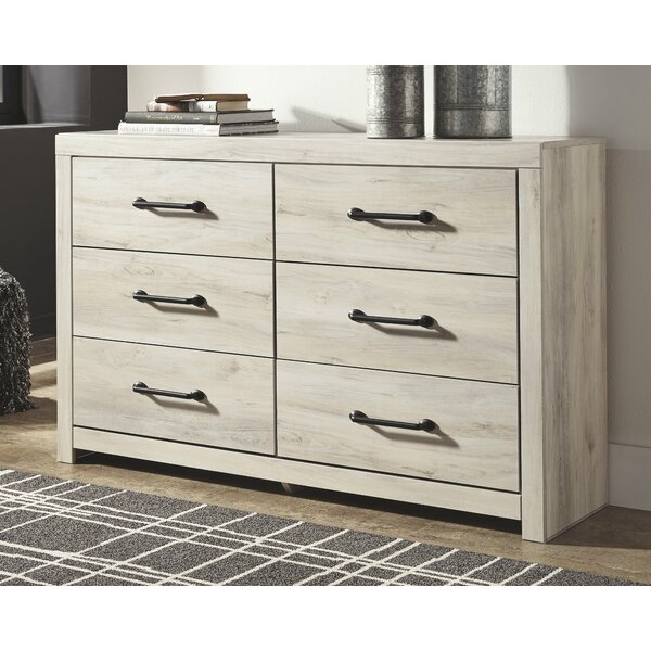 Bontang 6 Drawer Double Dresser by Gracie Oaks
