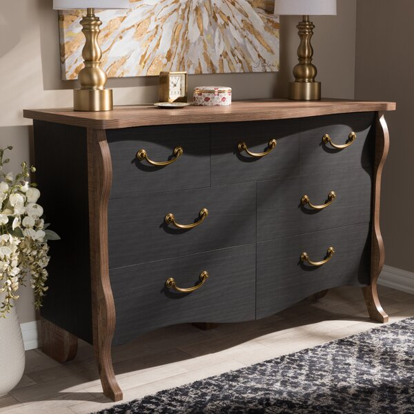Huntsberry 7 Drawer Double Dresser by August Grove