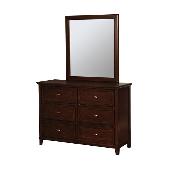 Middlebury 6 Drawer Double Dressers by Harriet Bee