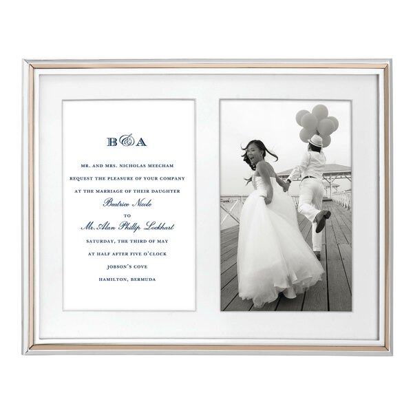 Rosy Glow Double Invitation Picture Frame by kate spade new york