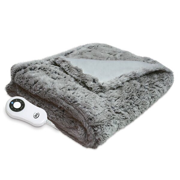 Faux Fur Throw by Alwyn Home