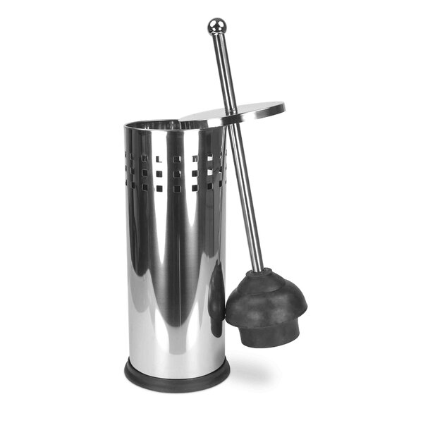 Free-Standing Plunger and Holder by Home Basics