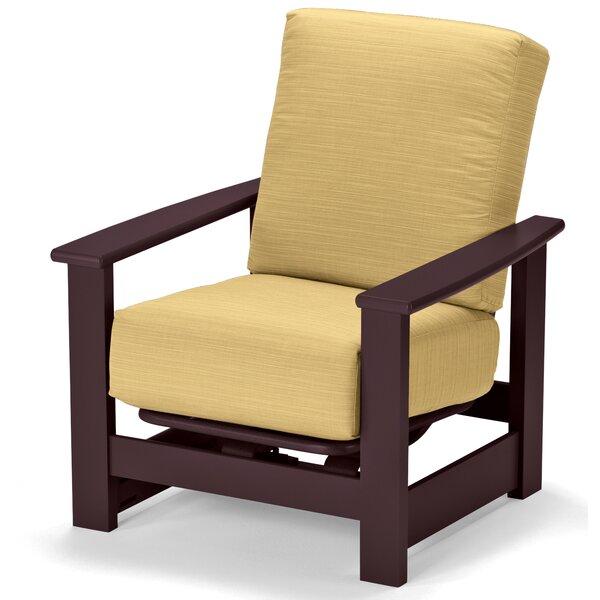 Leeward Deep Patio Chair With Cushions By Telescope Casual