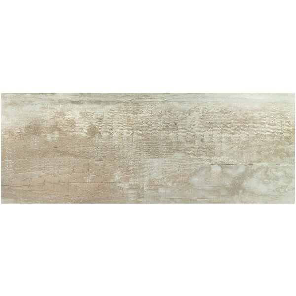 Ryan 18 x 46 Porcelain Wood Look Tile in Gris by Splashback Tile