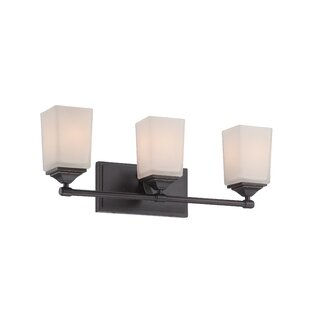 Affordable Corbin 3-Light Vanity Light By Designers Fountain