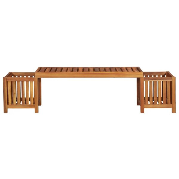 Jonathan Wooden Planter Bench by East Urban Home East Urban Home