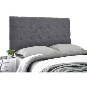 Dublin Adjustable Upholstered Panel Headboard by Alcott Hill