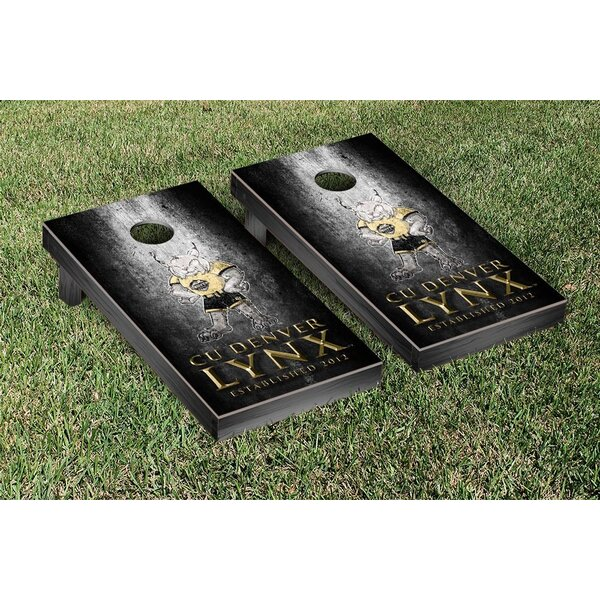 Colorado Denver Lynx Metal Version Cornhole Game Set by Victory Tailgate