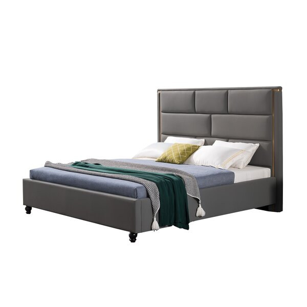 Schwab Eastern Upholstered Platform Bed By Everly Quinn by Everly Quinn Savings