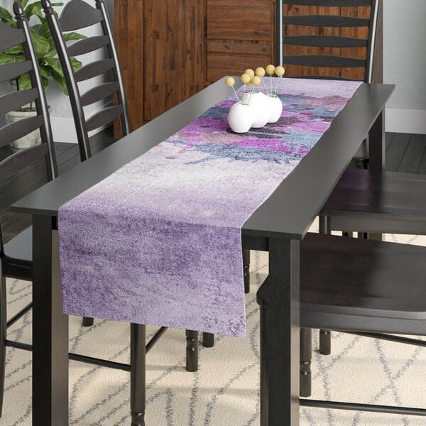 Nick Atkinson Painted Heart Table Runner by East Urban Home