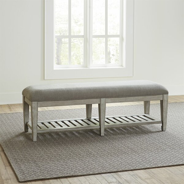 Upholstered Bench By Feminine French Country by Feminine French Country Find