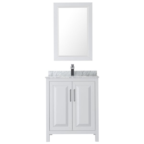 Daria 30 Single Bathroom Vanity Set with Mirror by Wyndham Collection