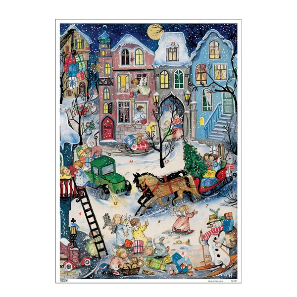 Korsch Angels with Gifts Advent Calendar by Alexander Taron