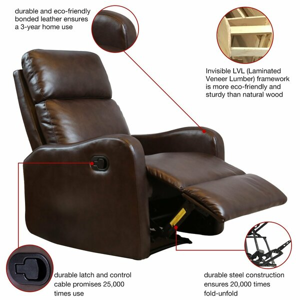 Lakes Manual Glider Recliner by Winston Porter