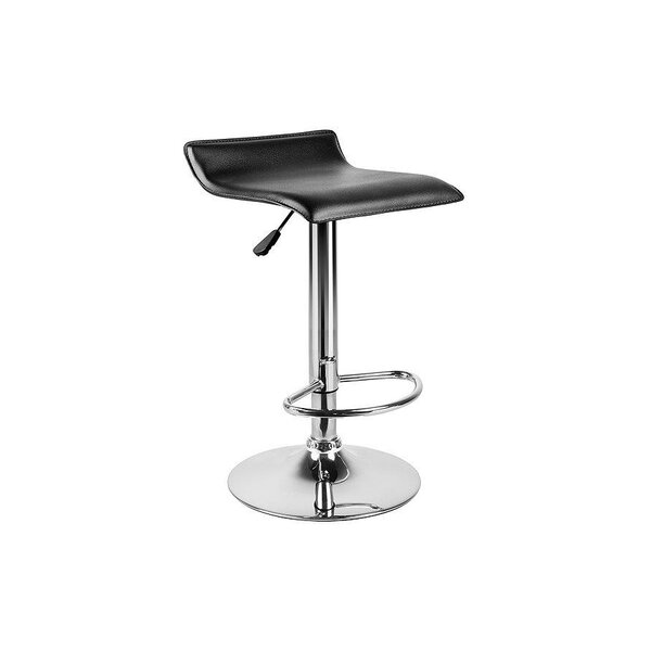 Mackles Adjustable Height Swivel Bar Stool (Set of 2) by Orren Ellis
