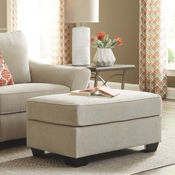 Pauline Nuvella Ottoman by Rosecliff Heights