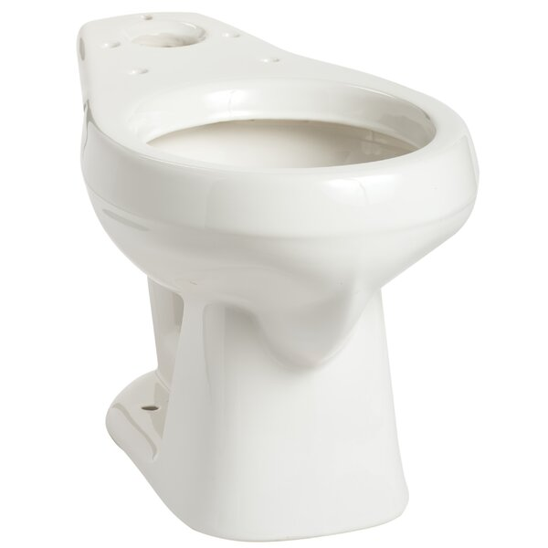 Alto Round Toilet Bowl by Mansfield Plumbing Products