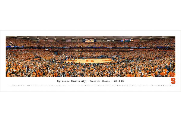 NCAA Syracuse University by Christopher Gjevre Photographic Print by Blakeway Worldwide Panoramas, Inc