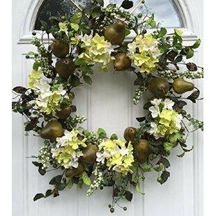 Silk Door Wreath & Large Front Door Wreaths | Wayfair