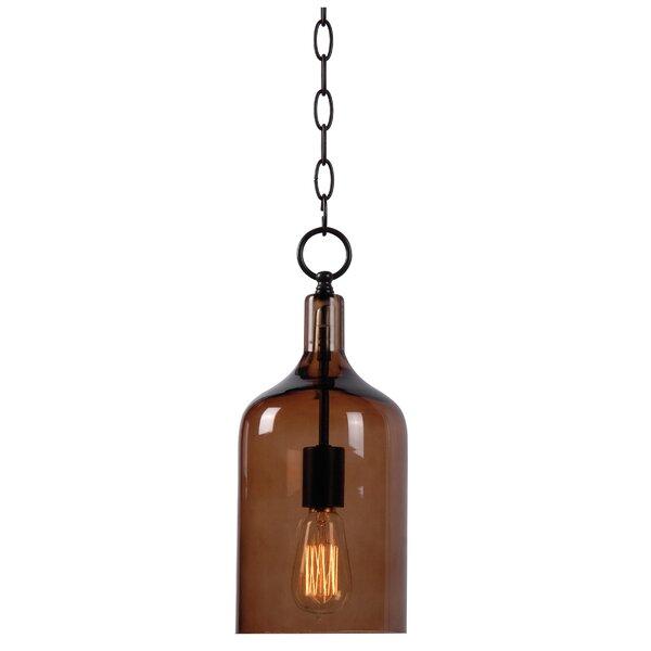 Capri 1-Light Geometric Pendant by Wildon Home ®