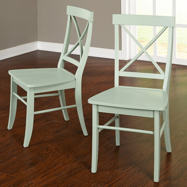 Brookwood Solid Wood Dining Chair (Set of 2) by Beachcrest Home