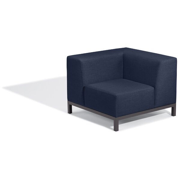 Koral Modular Patio Chair with Sunbrella Cushions by Latitude Run