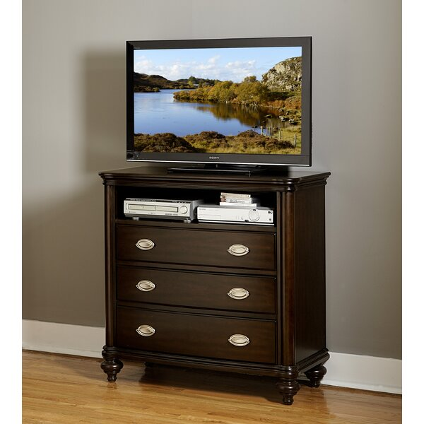 Nathaniel 3 Drawer Media Chest By Darby Home Co